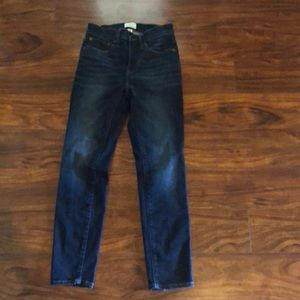 J crew skinny  jeans toothpick